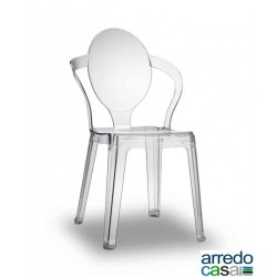 Sedia Spoon policarbonato interno/esterno - Scab Design