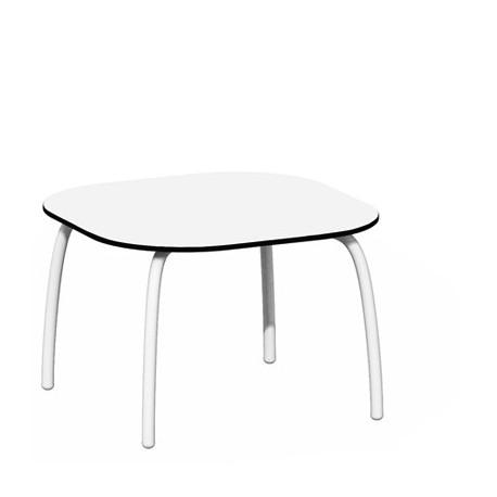 Tavolino Loto Relax alluminio- vetro.Diversi colori e misure. by Nardi Garden