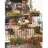 Sedia Costa Bistrot in polipropilene.Vari colori by Nardi Garden