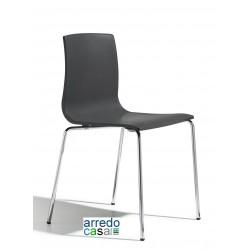 Sedia Alice Tecnopolimero telaio cromato - Design Arter&Citton Scab Design