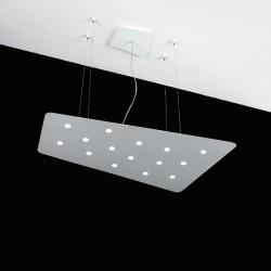 Lampadario Fuorisquadra Cattaneo Illuminazione. 15+4 led.