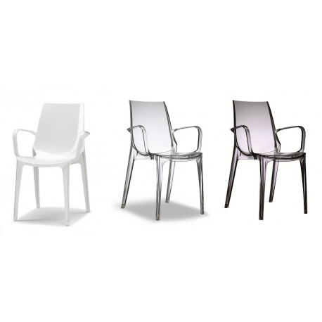 Sedie Con Braccioli Per Cucina.Sedia Con Bracciolo Scab Vanity Sedia In Policarbonato Scab Design
