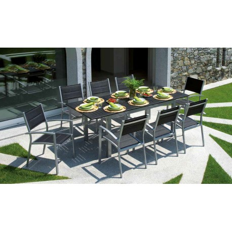 Tavoli Da Giardino Immagini.Tavolo Allungabile Da Giardino Ravello Cm 150 210x90 In Alluminio
