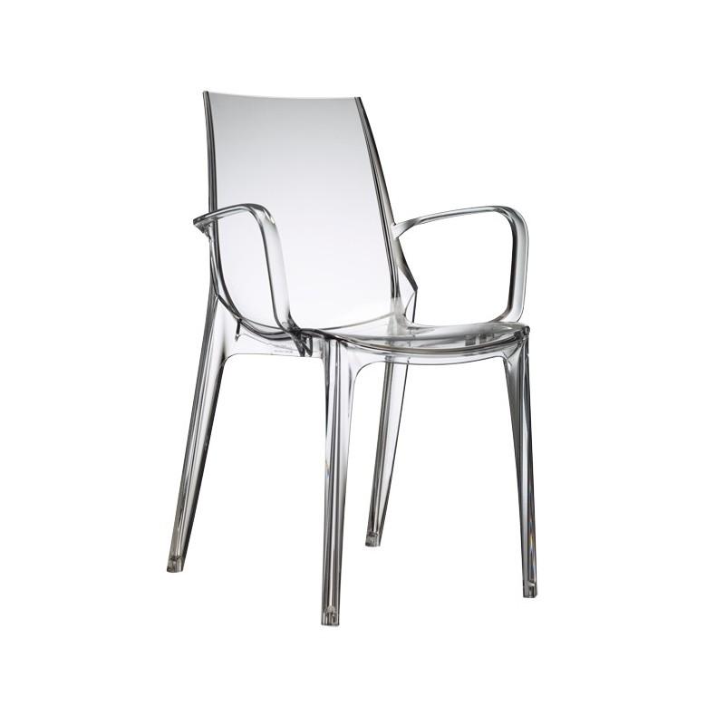 Sedie Con Braccioli Da Cucina.Sedia Con Bracciolo Scab Vanity Sedia In Policarbonato Scab Design
