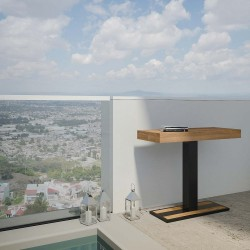 Tavolo da esterno allungabile Mimosa. Allungabile sino a cm. 300