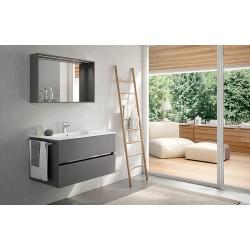 Mobile bagno MOON collezione EVERYDAY by BMT Bagni. Composizione 12.