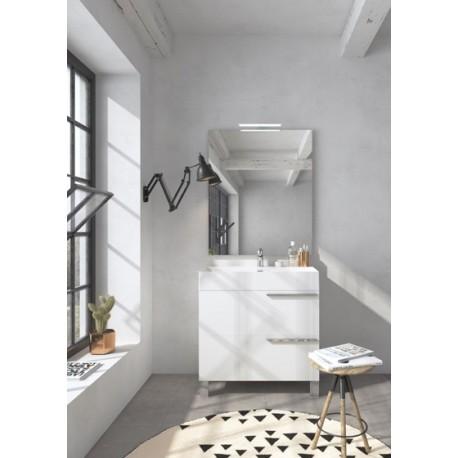 Mobile bagno MERCURY collezione EVERYDAY by BMT Bagni. Composizione 02