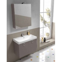Mobile bagno JUPITER collezione EVERYDAY by BMT Bagni. Composizione 09