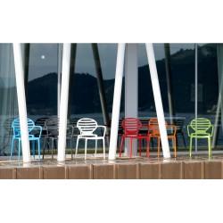 Sedia con braccioli Scab Cokka - Scab Design