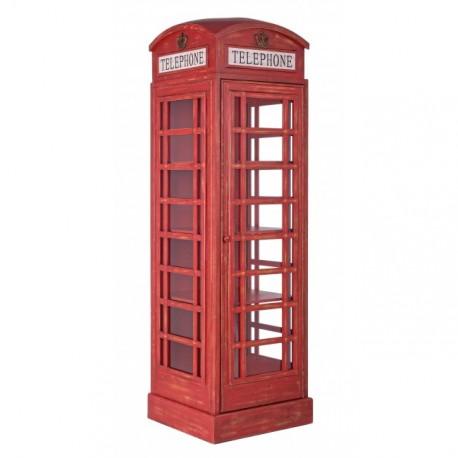 Libreria cabina telefonica inglese by bizzotto miglior for Cabina telefonica inglese arredamento