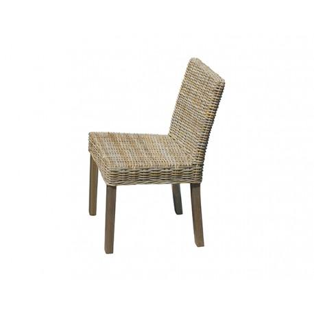 Sedie In Rattan Prezzi.Sedia Lisbona In Grey Kubu By Greenwood