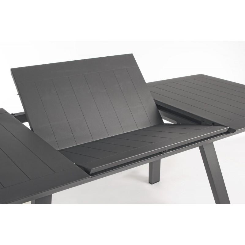 Tavolo Da Terrazzo Allungabile.Tavolo Da Esterno In Alluminio Allungabile Klayton Di Bizzotto