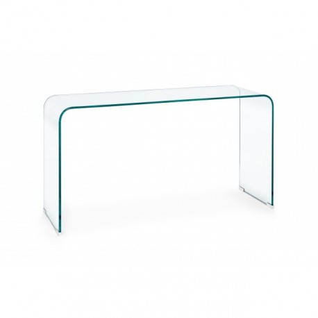 Consolle vetro curvato Iride di Bizzotto in offerta su Arredocasastore