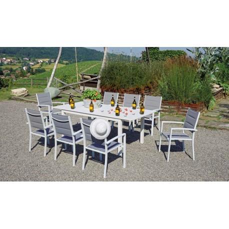 Greenwood Tavoli Da Giardino.Tavolo Allungabile Da Giardino In Alluminio Camaiore Miglior Prezzo