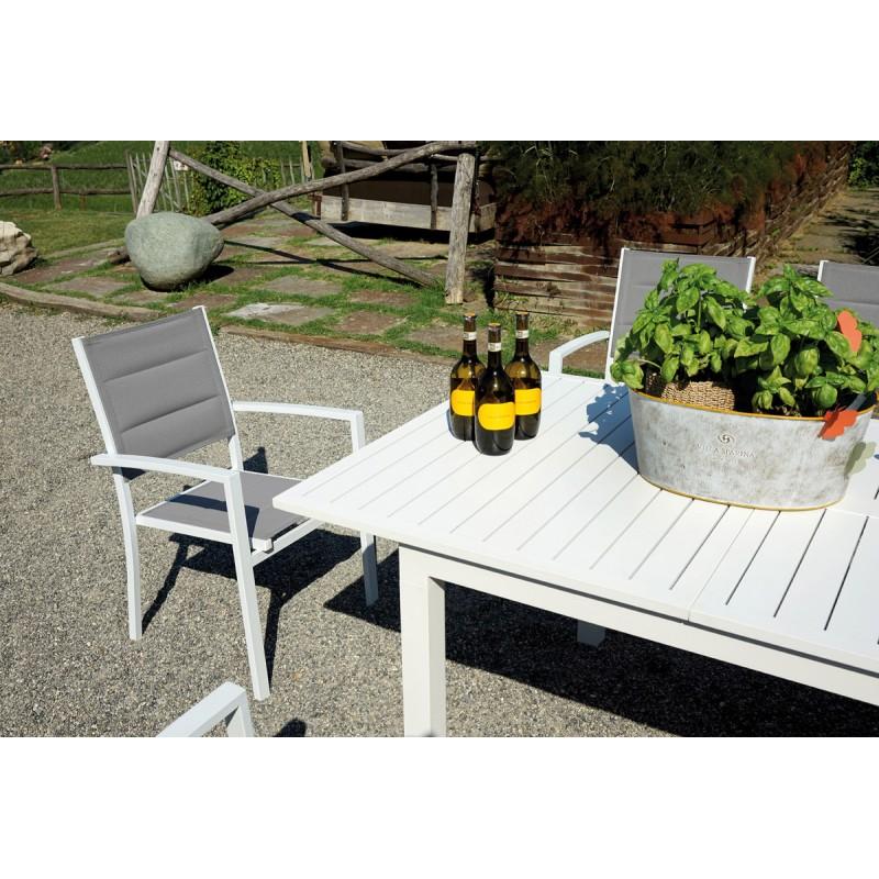 Prezzi Tavoli Da Giardino.Tavolo Allungabile Da Giardino In Alluminio Camaiore Miglior Prezzo