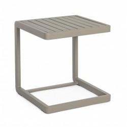 Tavolino da esterno in alluminio Konnor By Bizzotto