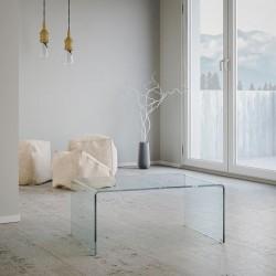 Tavolino in vetro curvato modello Galaxy Di Itamoby