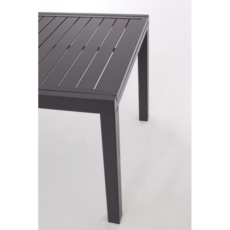 Tavolo da esterno allungabile Hilde by Bizzotto in alluminio.