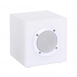 Lampada Led Cubo con altoparlante Bluetooth. Per uso interno ed esterno. 3 misure