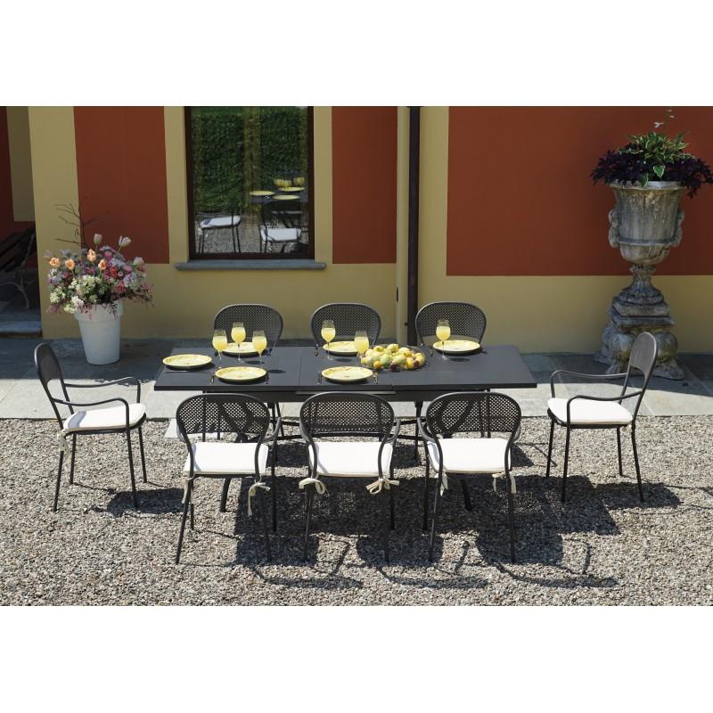 Tavolo da esterno Ginevra di Greewood allungabile 150 ...