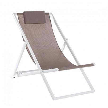 Sedia Sdraio In Alluminio.Sdraio In Alluminio Taylor Di Bizzotto Alluminio E Textilene 4 Colori
