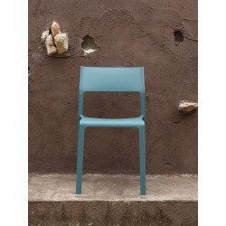 Sedia da esterno Trill by Nardi in resina fiberglass