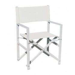 Sedia regista da esterno in alluminio by Greenwood CHAT 71. Disponibile 2 colori