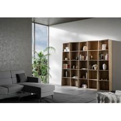 Libreria in legno Trek 5